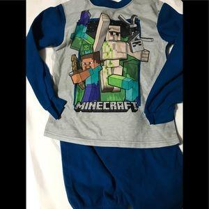 Other - Boy's size 10/12 2-piece MINECRAFT pajamas